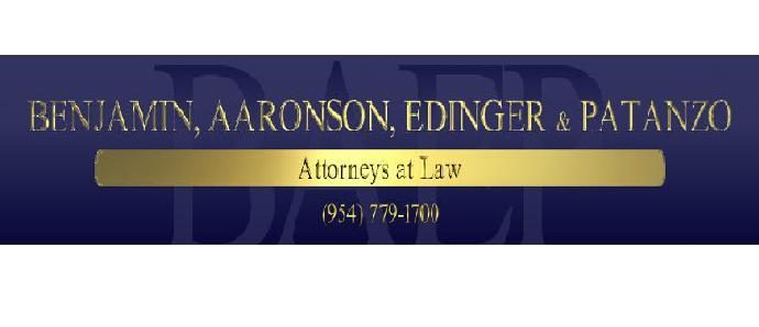 Benjamin, Aaronson, Edinger & Patanzo P.A.